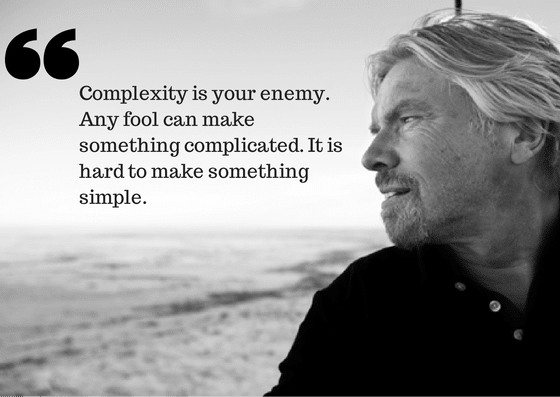 Complexity is your enemy