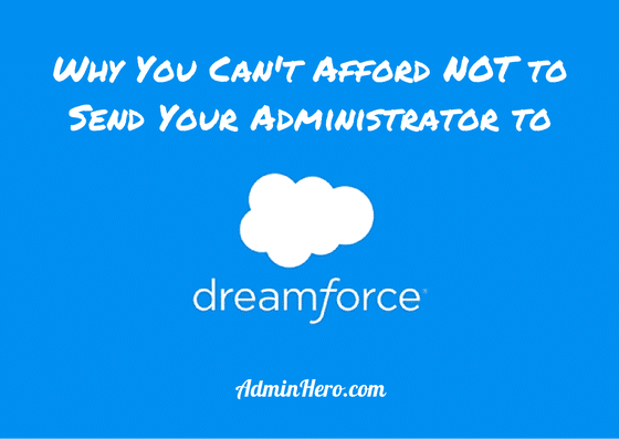 Why Your Administrator Needs to Attend Dreamforce_Permananet Marker
