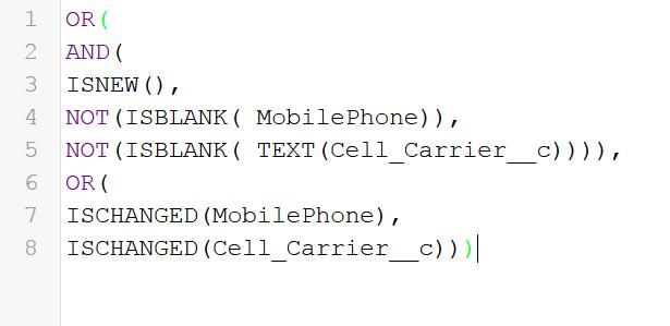syntax rule criteria