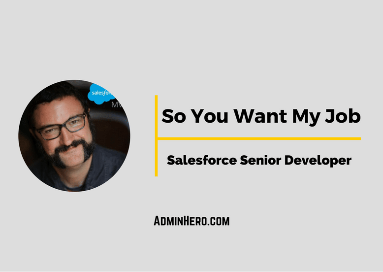 So You Want My Job- Salesforce Senior Developer
